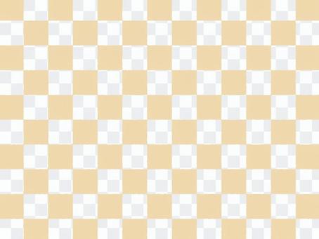Checkered a_ beige transparent _ cs