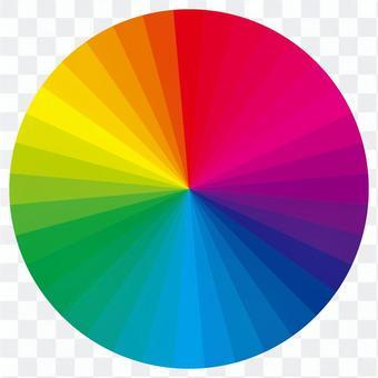 色環中的36種顏色