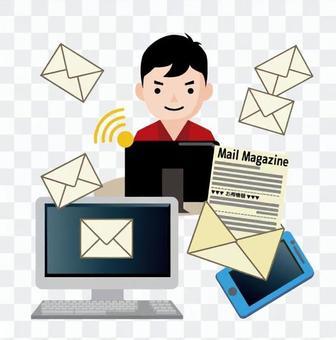 Email magazine 2