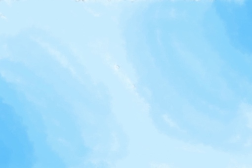 Watercolor style background light blue
