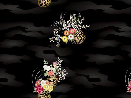 ai花卉圖案與色板
