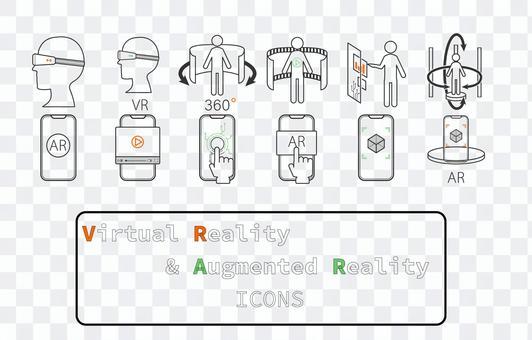 Icon set [AR & VR_color]
