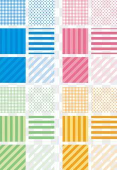 6 basic patterns