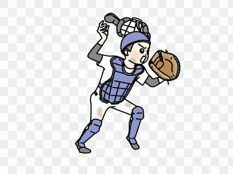 少年野球_キャッチャー