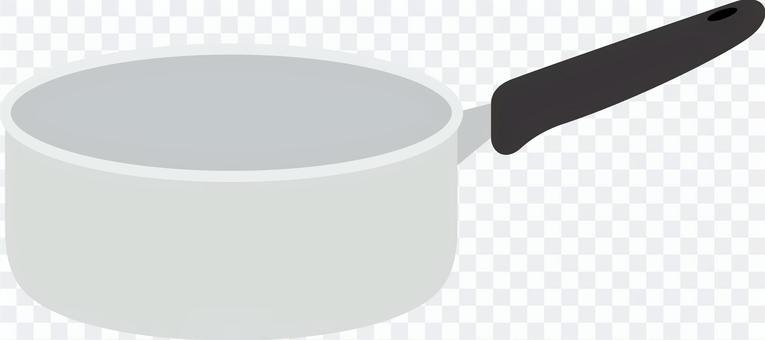炊具用一隻手