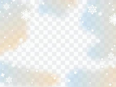 冬雪景色背景
