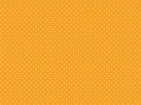 圓點橙色背景素材