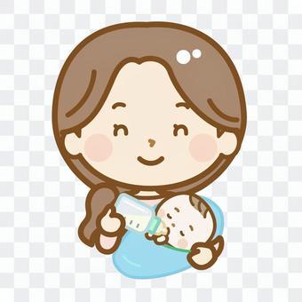母乳喂養生活系列