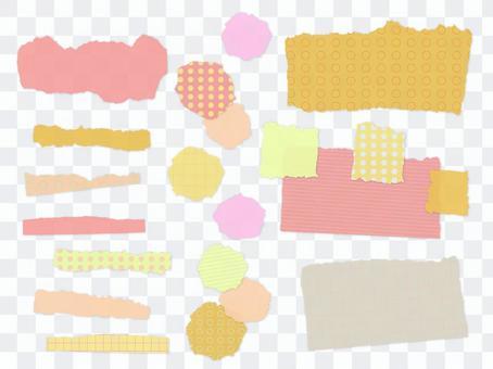 撕裂紙狀材料2