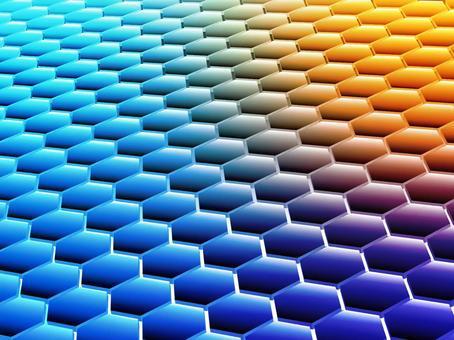 背景 六角形 パターン