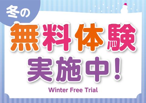 Free winter trial in progress Seminar School