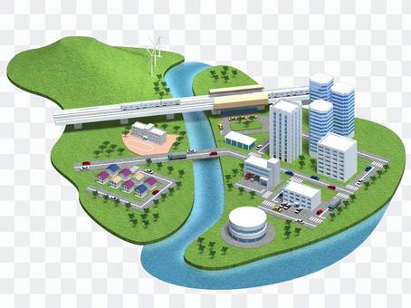 Cityscape (townscape) -4