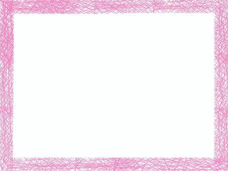粉色框細線