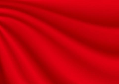 懸垂式窗簾紅色(紅色背景,紅色布料)