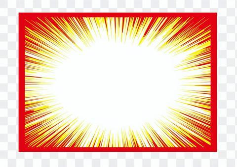 巴肯框架_濃度線_紅黃黃白