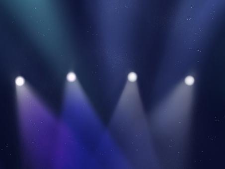 Spotlight live background illustration