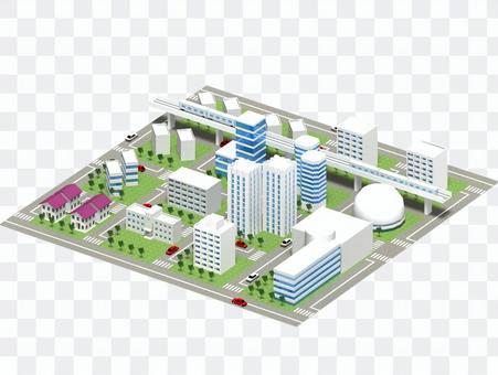 Cityscape (townscape) -3