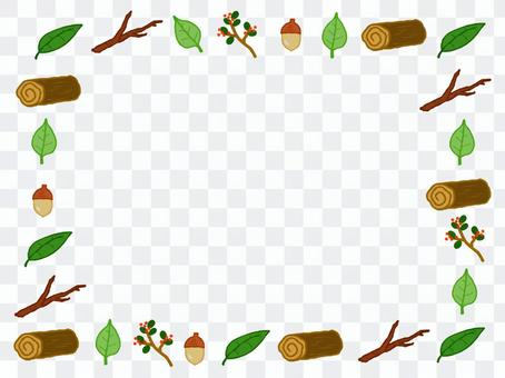 Acorn Nanten Log Leaf Tree Nut