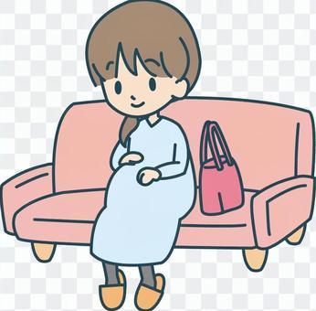 定期健康檢查孕婦