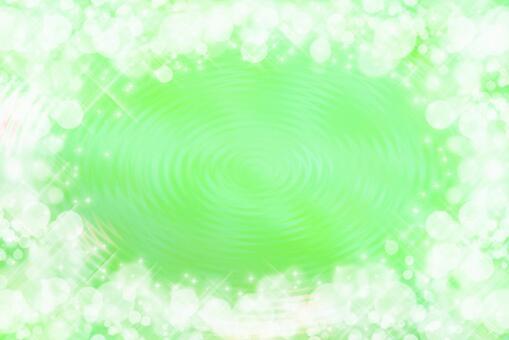 波光粼粼的波浪黃綠色