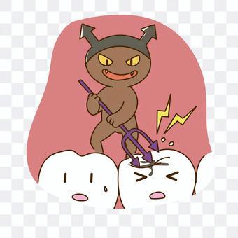 齲齒細菌可惡