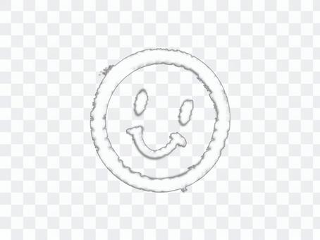 [透明]微笑狀的雲[零件]