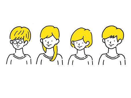 4個簡單時尚的女裝_上身