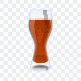 Brown beer (glass)
