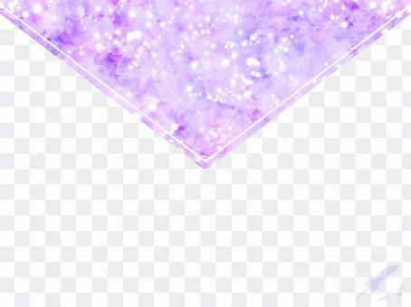 字母樣的背景紫色