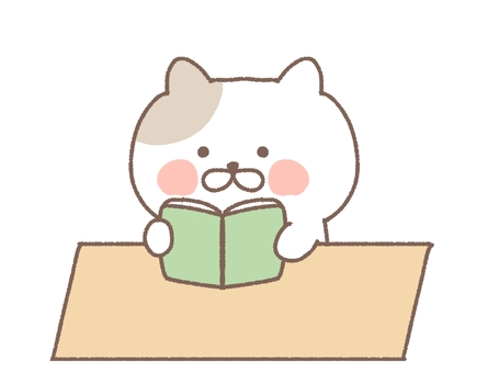 閱讀書籍閱讀閱讀圖書館學習學習貓
