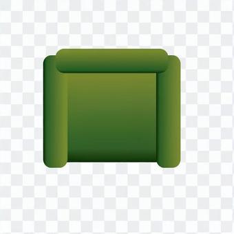 Sofa (Green) 02