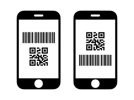 二維碼支付 image_smartphone icon
