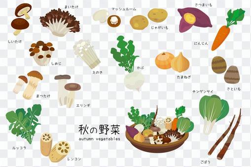 秋天的蔬菜