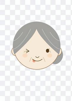 Grandmother wink