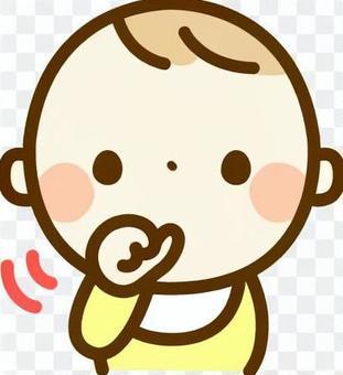 嬰兒吮吸手指