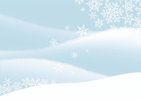 冬天背景雪1
