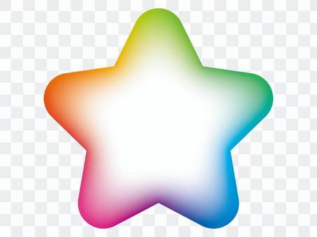 虹彩星空框架
