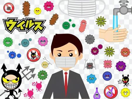 ウイルスセット