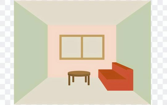 Living room (Japanese color)