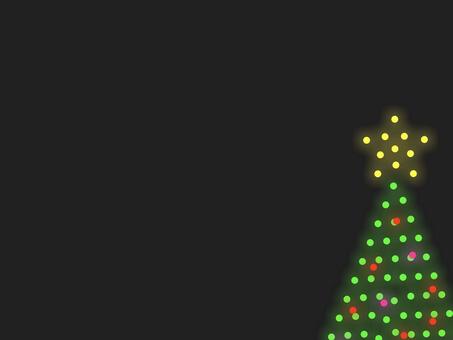 聖誕樹照明框架 B:裝飾