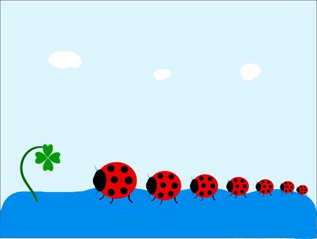 尋找四葉三葉草酒吧Ladybug叛亂分子遊行