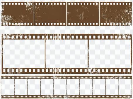 棕褐色格蘭奇膠卷畫面