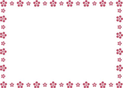 梅花框框架