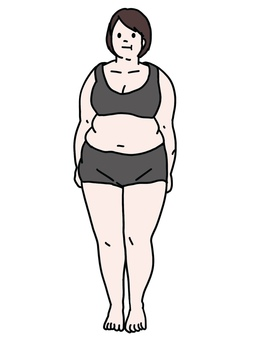 Female metabolic syndrome chubby