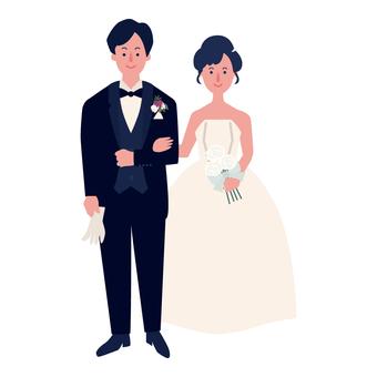 薩基結婚了