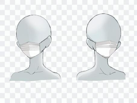 マスク(マネキン)