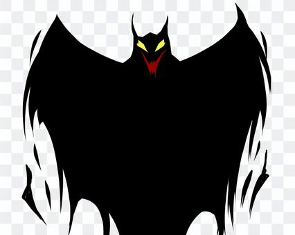 惡魔/惡魔/蝙蝠般的感覺的陰影