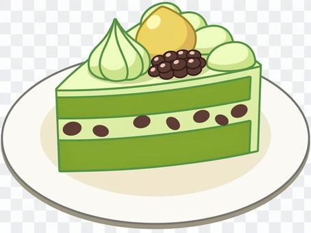 日式抹茶蛋糕