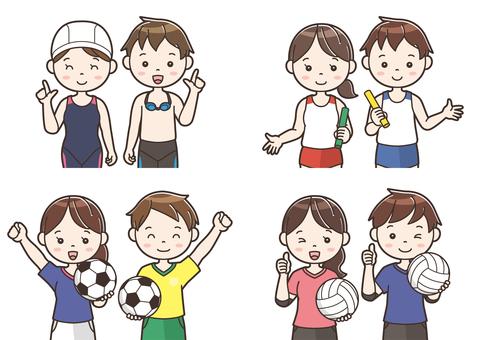 Club activity illustration 12