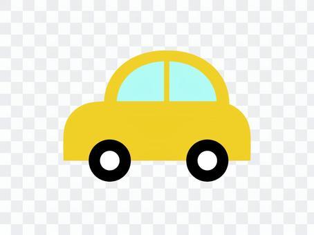 車 自動車 横 黄色